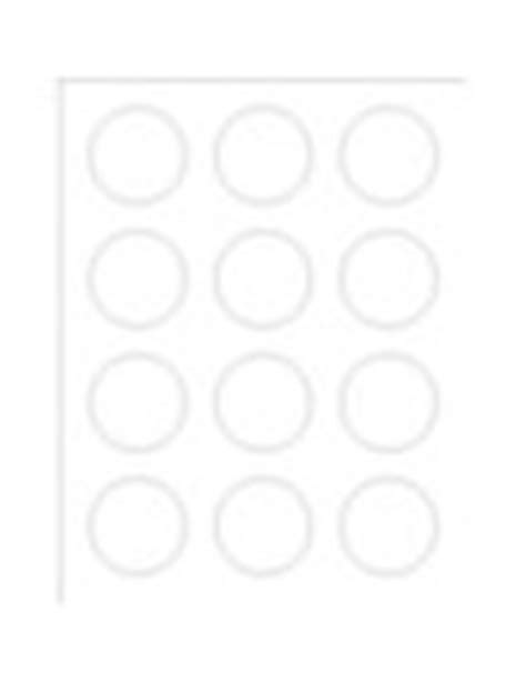 Templates Round Foil Labels 12 Per Sheet Avery Avery Label Template 22824