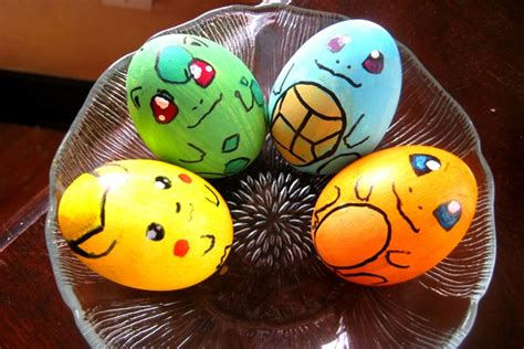decorated eggs characters the active scrawler easter eggs decorated as fictional