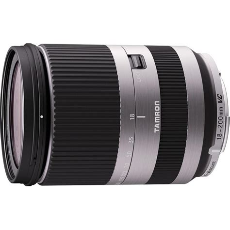 Dijamin Tamron 18 200 Mm Vc For Canon tamron 18 200mm f 3 5 6 3 di iii vc lens for canon eos m silver lenses photopoint