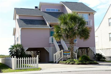 Britt House Oceanfront Rental 4 Bedrooms 4 Full Baths Houses For Rent In Cherry Grove Sc