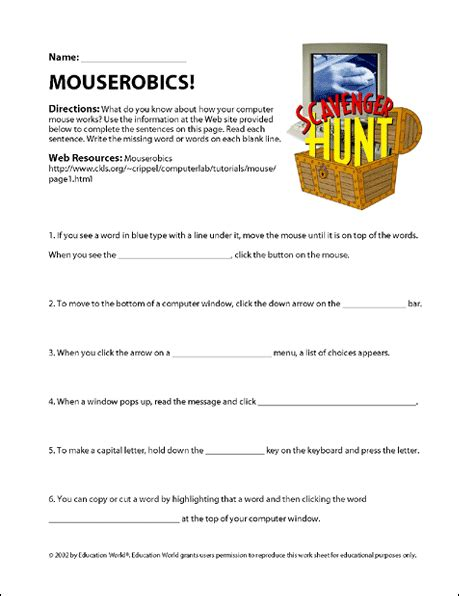 Scavenger Hunt Worksheet by Scavenger Hunt Worksheet Geersc