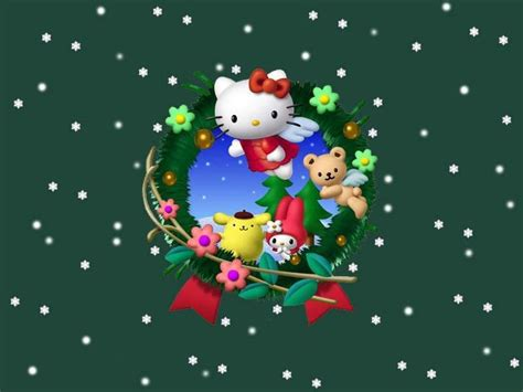 wallpaper christmas sanrio 17 best images about hello kitty christmas backgrounds on
