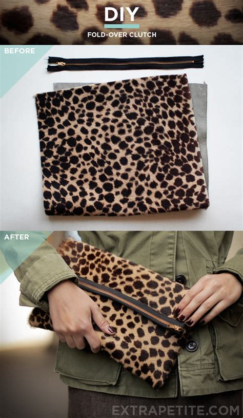 Handmade Clutch Bags Tutorial - fashion style tips and diy