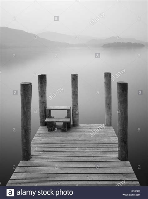 boat landing jetty the boat landing derwentwater stock photos the boat