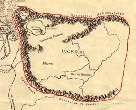 map of mordor mordor fantasyfaceoff forum