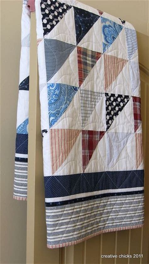 Quilt Made From Shirts by Quilts From S Shirts Quilting Digest