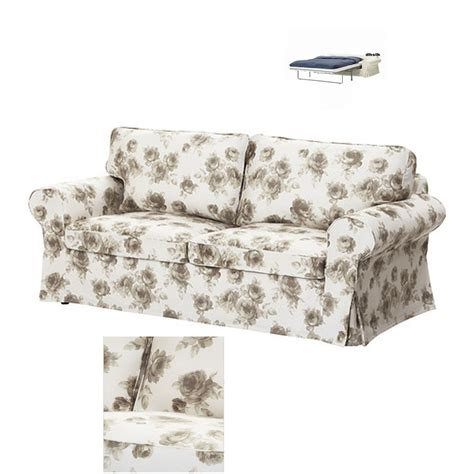 floral sofa bed ikea ektorp 2 seat sofa bed slipcover sofabed cover