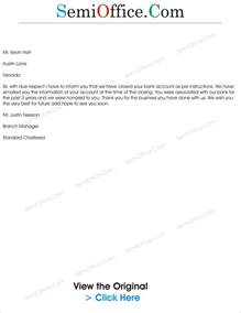 Bank Letter To Customer Account Thanks Letter Archives Semioffice