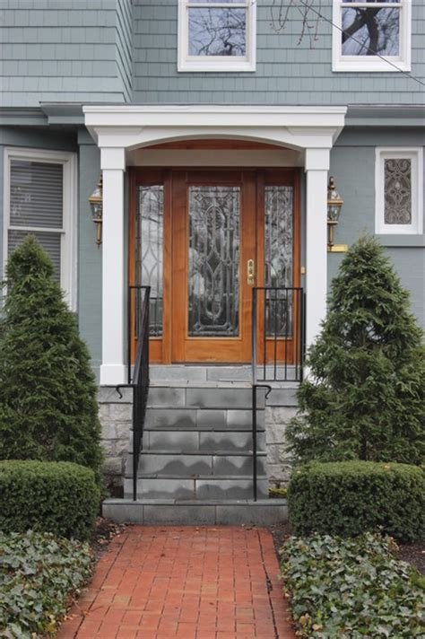 front porch addition before after traditional
