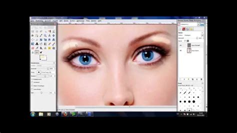 gimp tutorial mac deutsch gimp 2 6 tutorial deutsch nat 252 rlich aussehendes make up