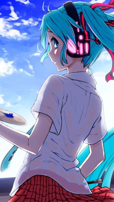 android themes hatsune miku 45 hatsune miku android wallpaper hd quality hatsune