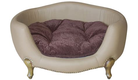 fancy dog beds vivienne luxury dog bed small dog boutique at glamourmutt com