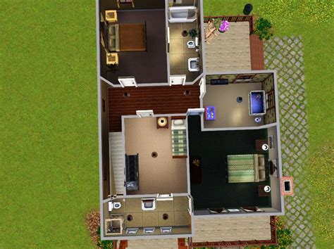 Bedroom Grow Rar Mod The Sims Quot A Step Up Quot 4 Bedroom Family Home 40k