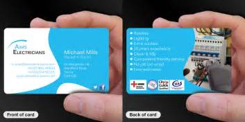 business card printing for electricians cpcards