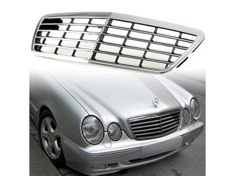 Chrom Plastik Lackieren by Chrom Black Front K 252 Hlergrill F 252 R Mercedes W210 E Class