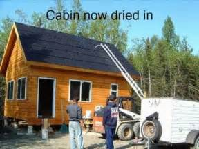 Alaska Cabin Floor Plans 16 x 24 vacation log cabin youtube