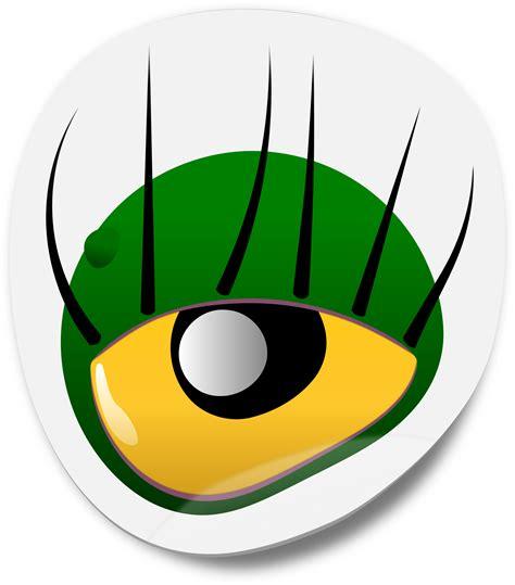 printable eye stickers clipart monster eye sticker 1