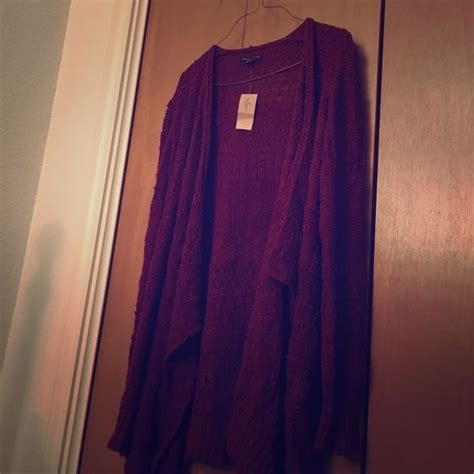 wine colored cardigan wine colored american eagle knitted cardigan boutique