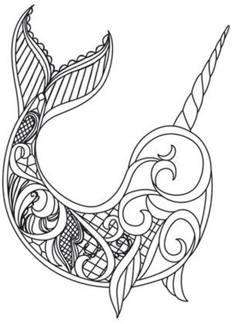 narwhal zentangle pattern the 2852 best images about templates patterns