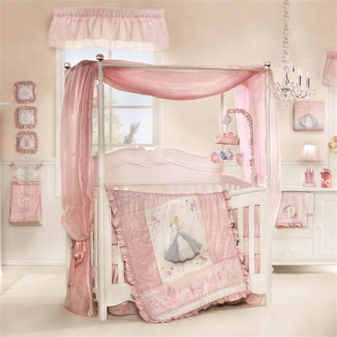 Cinderella Premier 7 Piece Crib Bedding Set Featuring Baby Princess Crib Bedding