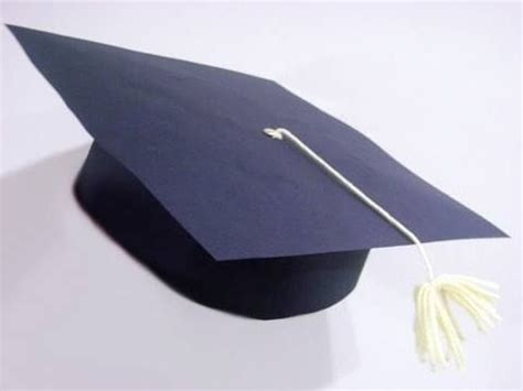 How To Make Paper Graduation Hats - how to make a paper graduation cap with your cap d