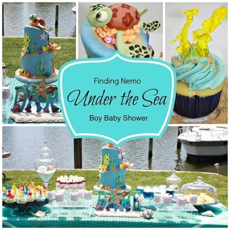 Baby Shower The Sea Theme by Wonderful Ideas For The Sea Baby Shower Decorations Baby Shower Ideas