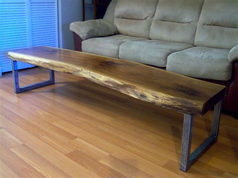 walnut coffee table legs made live edge black walnut coffee table with square