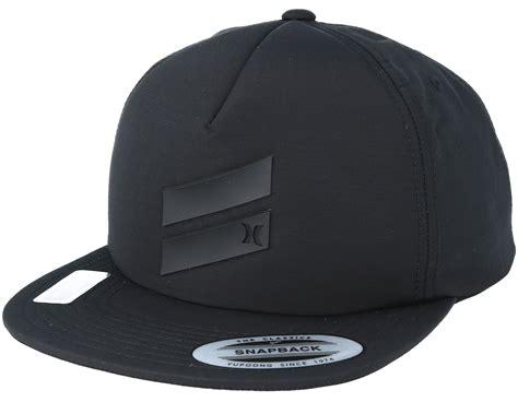 Snapback Hat Hurley Imbong 1 slash black snapback hurley caps hatstore co uk