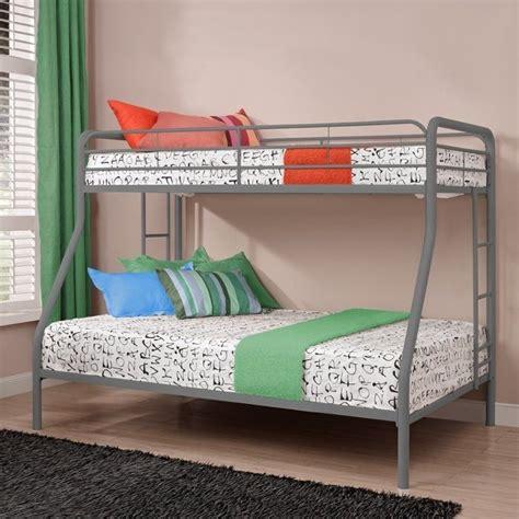 Silver Bunk Bed Metal Bunk Bed In Silver 5418096