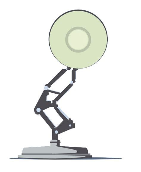 Pixar Lamp Logo totally transparent