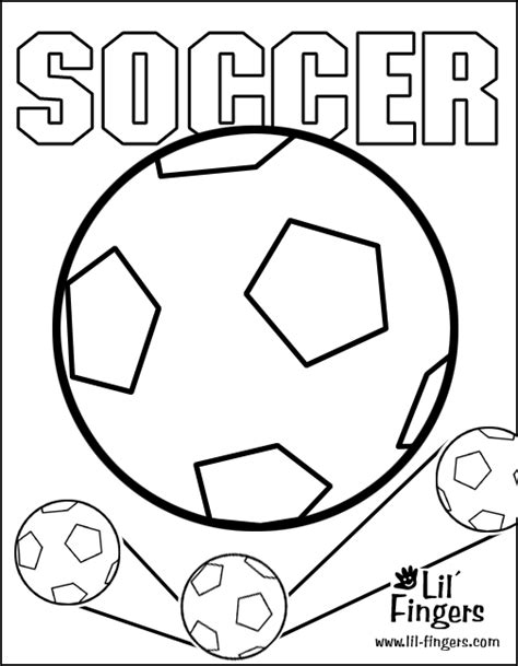 Soccer Printable Coloring Pages Soccer Color Pages