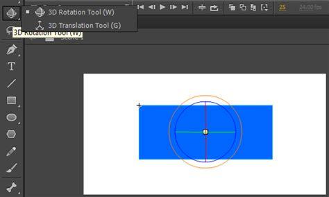 membuat logo berputar di adobe premiere cara menggunakan 3d rotation tool di adobe flash