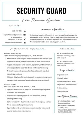 Police Officer Resume Example Amp Writing Tips Resume Genius