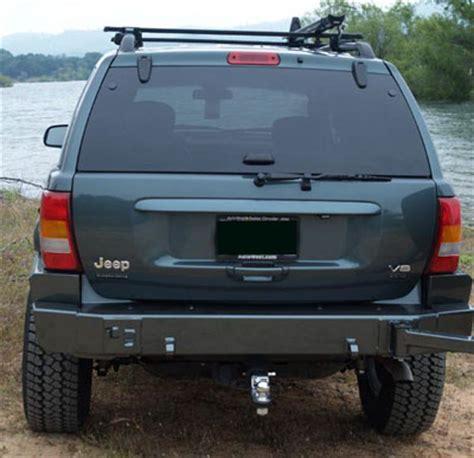 jeep grand rear bumper custom4x4 wj grand rear bumper