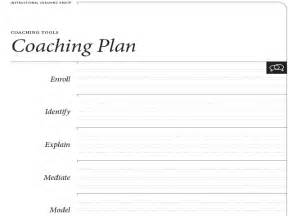 Coaching Plan Template For Teachers by Resources And Teaching Tools Coaching