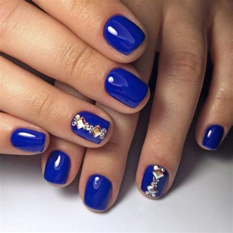 gel nail designs for middle aged women blue nail art ideas a universe of creative manicure designs