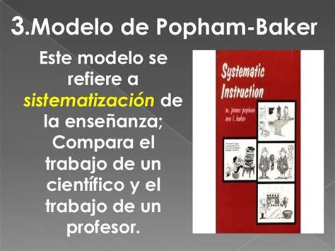 Modelo Curricular Popham desarrollo de sistemas educativos