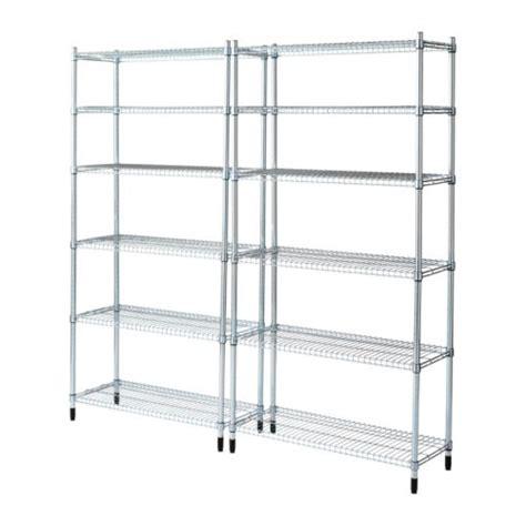 shelf section omar 2 shelf sections ikea