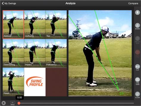 swing analysis golf swing analysis for iphone and golf swing