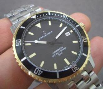 Fossil Matic Blue 1990s eterna two tone 200m diver available ablogtowatch