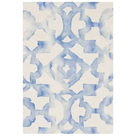 can you dye an area rug safavieh dip dye ivory blue 2 ft x 3 ft area rug ddy717a 2 the home depot