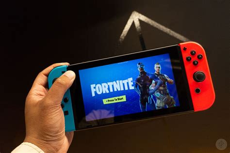 fortnite switch fortnite on the nintendo switch has already been