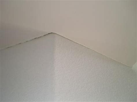 Ceiling And Wall Cracks by Wall Where The Wall Ceiling Meet This