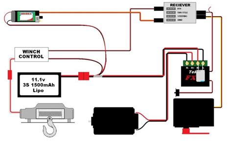 rc servo winch wiring diagrams wiring diagram schemes