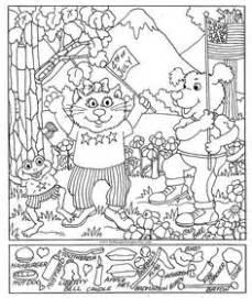 snowman hidden pictures printable hidden pictures publishing snowman hidden picture puzzle