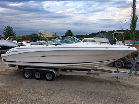 sea ray deck boat used sea ray deck boat boats for sale boats