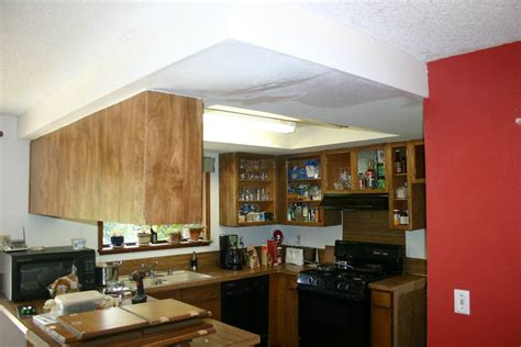 How To Remove Soffit Above Kitchen Cabinets Kitchen Cabinet Soffit Removal Kitchen Cabinets With Soffit Kitchen Soffit Makeover Kitchen