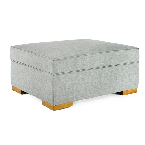 ottoman converts to a guest bed corner housewares ibed convertible ottoman guest bed gray