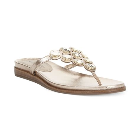 kenneth cole flat shoes kenneth cole reaction net keeper bling flat sandals