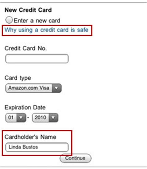 Cardholder Name On Visa Gift Card - mcommerce what you can learn from amazon